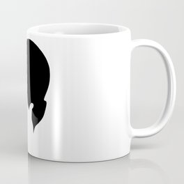 Facepalm Silhouette Coffee Mug