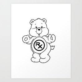 Rx - Cares Art Print