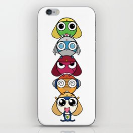 Leap Frogs in Space!! iPhone Skin
