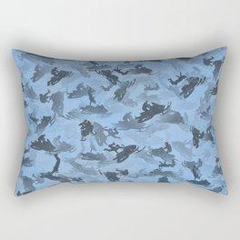 Snowmobile camouflage Rectangular Pillow