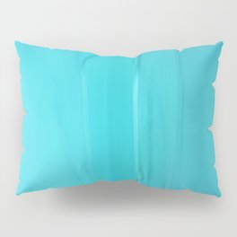 Abstract Turquoise Pillow Sham