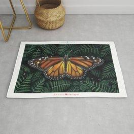 Butterfly Collection - Danaus Plexippus Rug