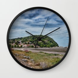 Minehead Somerset Wall Clock