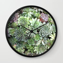 Desert Flower I Wall Clock