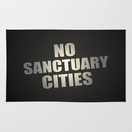 No Sanctuary Cities Rug