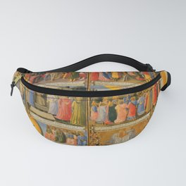 """Fra Angelico (Guido di Pietro) """"Scenes from the life of Christ"""" Fanny Pack"""