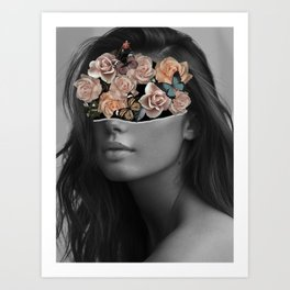 Mystical nature's portrait II Art Print