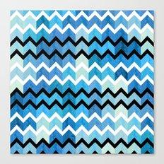 Chevron Pattern Canvas Print