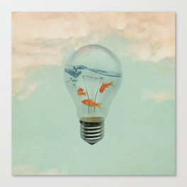 Ideas and Goldfish (RM) Canvas Print