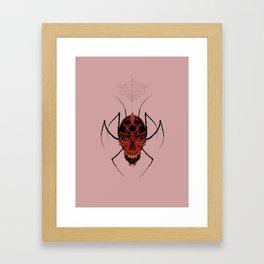 Skullspider Framed Art Print