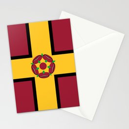 Northamptonshire county flag Stationery Cards