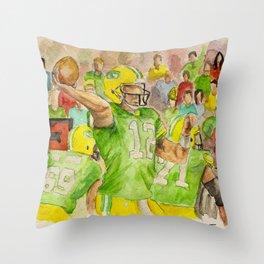 Aaron Rodgers_QB Throw Pillow