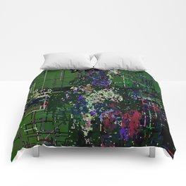 8bit fool Comforters