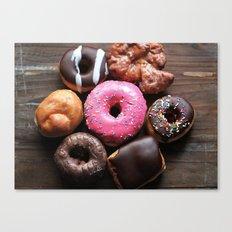 Mmmm Donuts Canvas Print