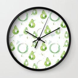 Avocado2 Wall Clock