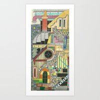DREAM SCHEME 1 Art Print