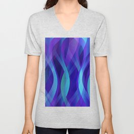 Abstract background G143 Unisex V-Neck