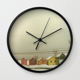 Tropical Heat Wave Wall Clock