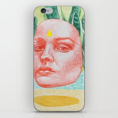 she is in the details iPhone & iPod Skin