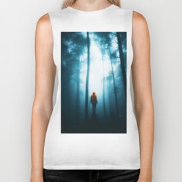 He in the Forest (Color) Biker Tank