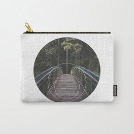 Circular Bridge - Geometric Photography Carry-All Pouch