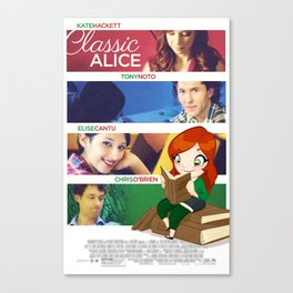 Classic Alice Movie Poster Canvas Print