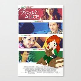 Classic Alice Movie Poster Canvas Print