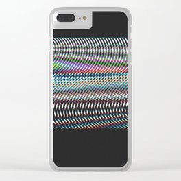 No Service Clear iPhone Case