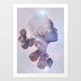 You Were.. Art Print