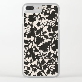 earth 1 Clear iPhone Case