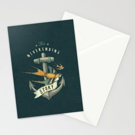 Anchor   Petrol Grey Stationery Cards