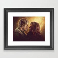 You Are My Future Framed Art Print