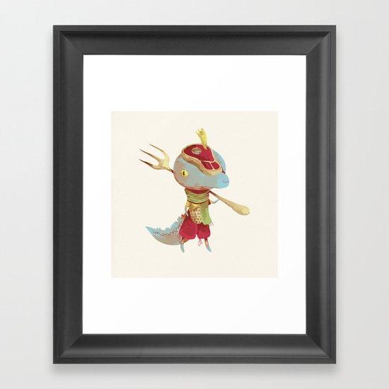 Dusteak Framed Art Print