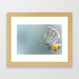 Composition in Yellow and Blue....  Framed Art Print