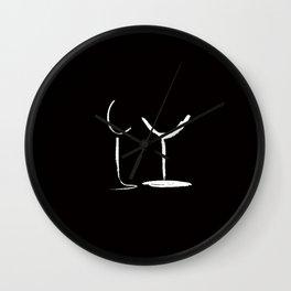 That Odd Couple Wall Clock