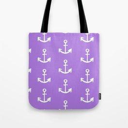 Anchors - Purple Tote Bag