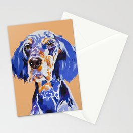Noble English Setter Stationery Cards