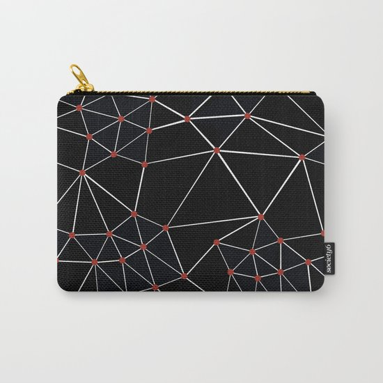 Seg with Red Spots Carry-All Pouch