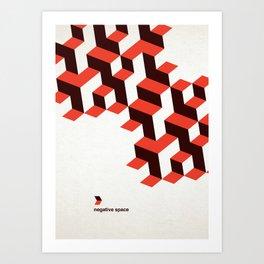 Modenist Negative Space Art Print