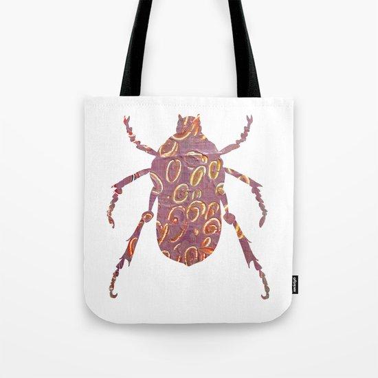 Painted Beetles Tote Bag