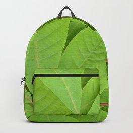 Green leaves II Backpack