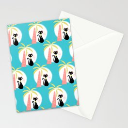 va-CAT-ions_Pattern Stationery Cards