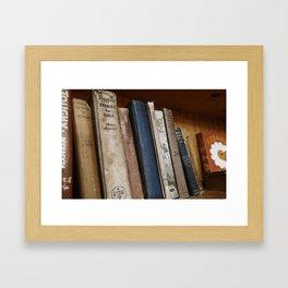 Stories for Girls Framed Art Print