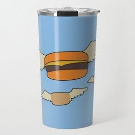 Bob's Burgers Flying Hamburger picture Travel Mug