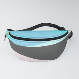 Line Beach Towel Fanny Pack