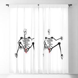 Skeleton Nono Male Blackout Curtain