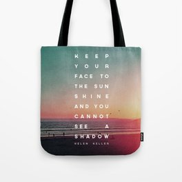 Face to the Sunshine Tote Bag
