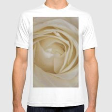 Endless love White Mens Fitted Tee MEDIUM