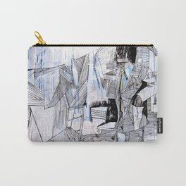 Distant Folding Carry-All Pouch