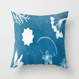 Sunprint - 9 Pointed Stars (2) Throw Pillow